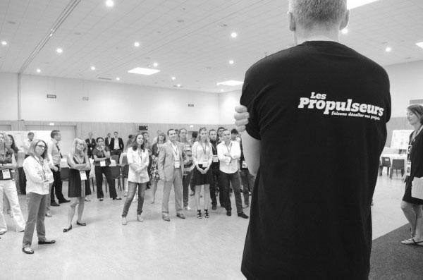 Les Propulseurs font le tour des Barcamps