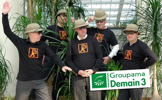 Les Explorateurs du Web animent la plateforme du séminaire Groupama Demain
