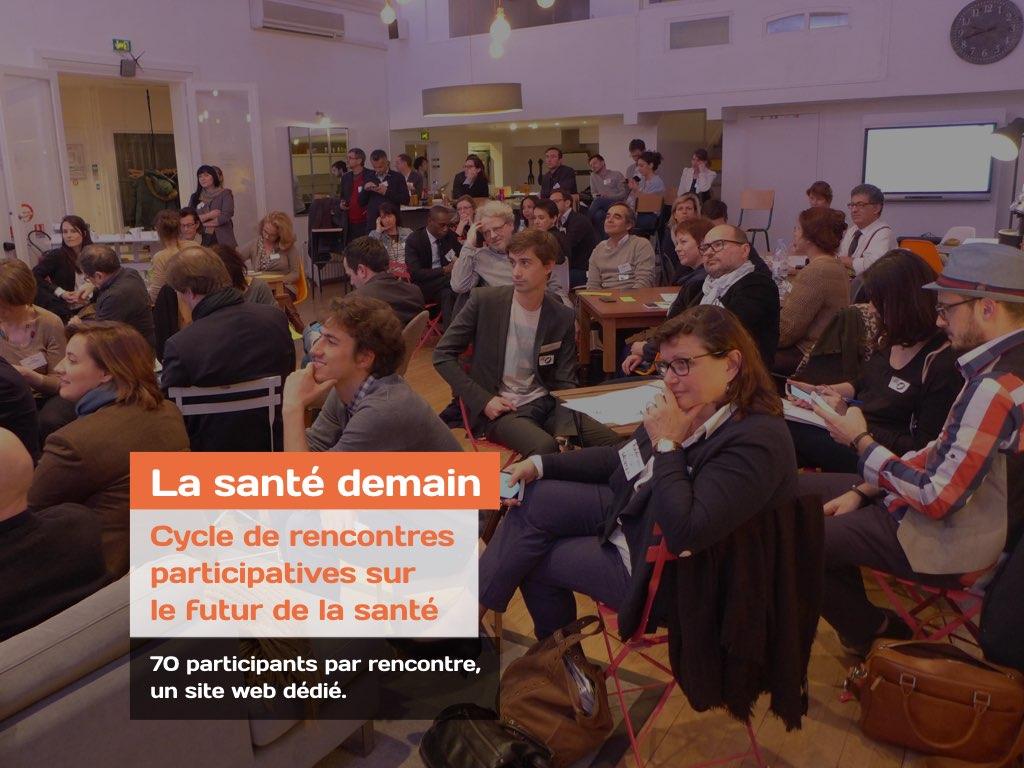 Atelier participatif sur la santé demain animé par Les Propulseurs