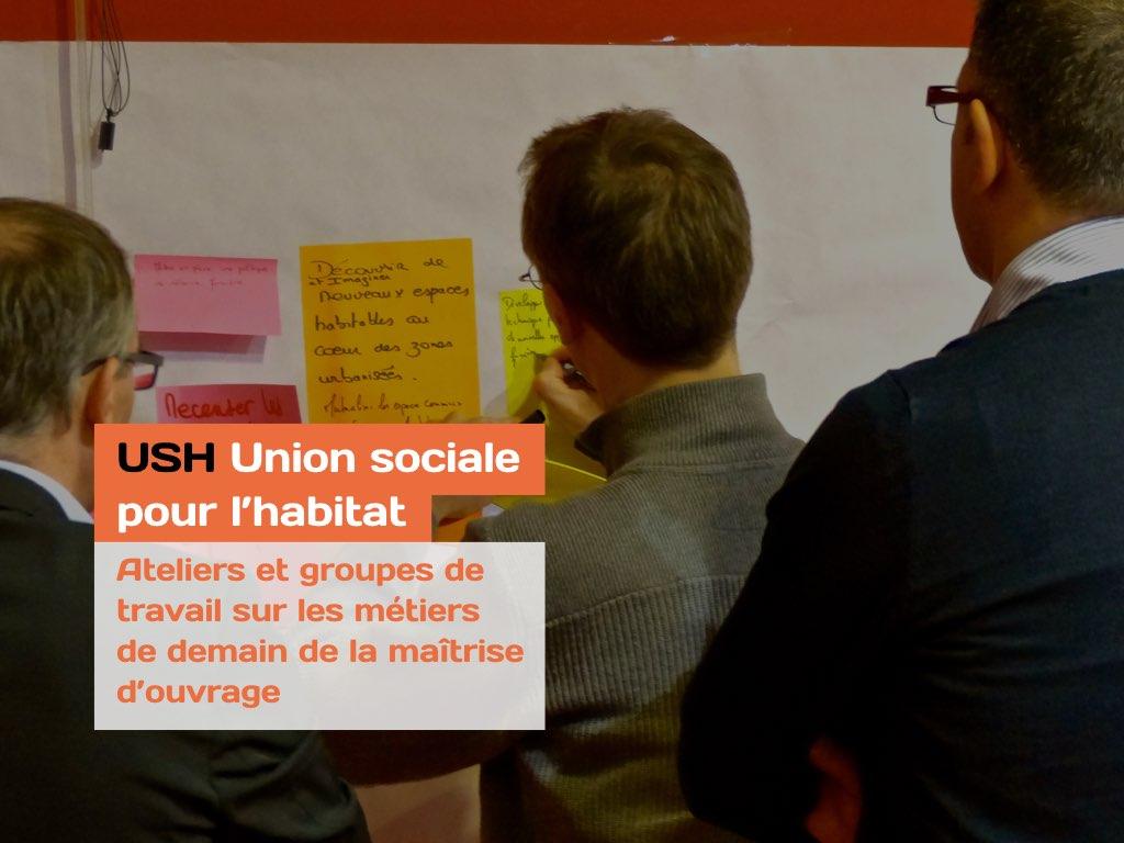 Atelier Les Propulseurs pour l'Union Sociale pour l'Habitat - USH