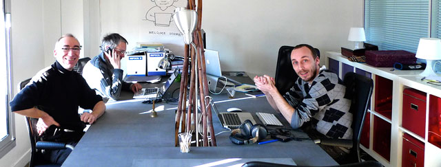 Le bureau du Community Space