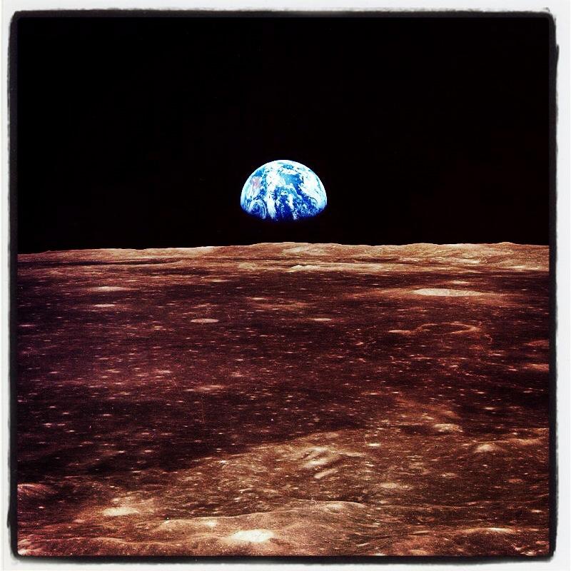 La conquête de la Lune revisitée à travers l'œil d'Instagram